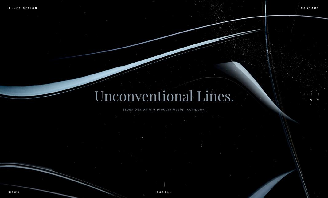 【Webデザインに舌鼓をうつ vol.10】 BLUES DESIGN by STUDIO DETAILS  (日本)