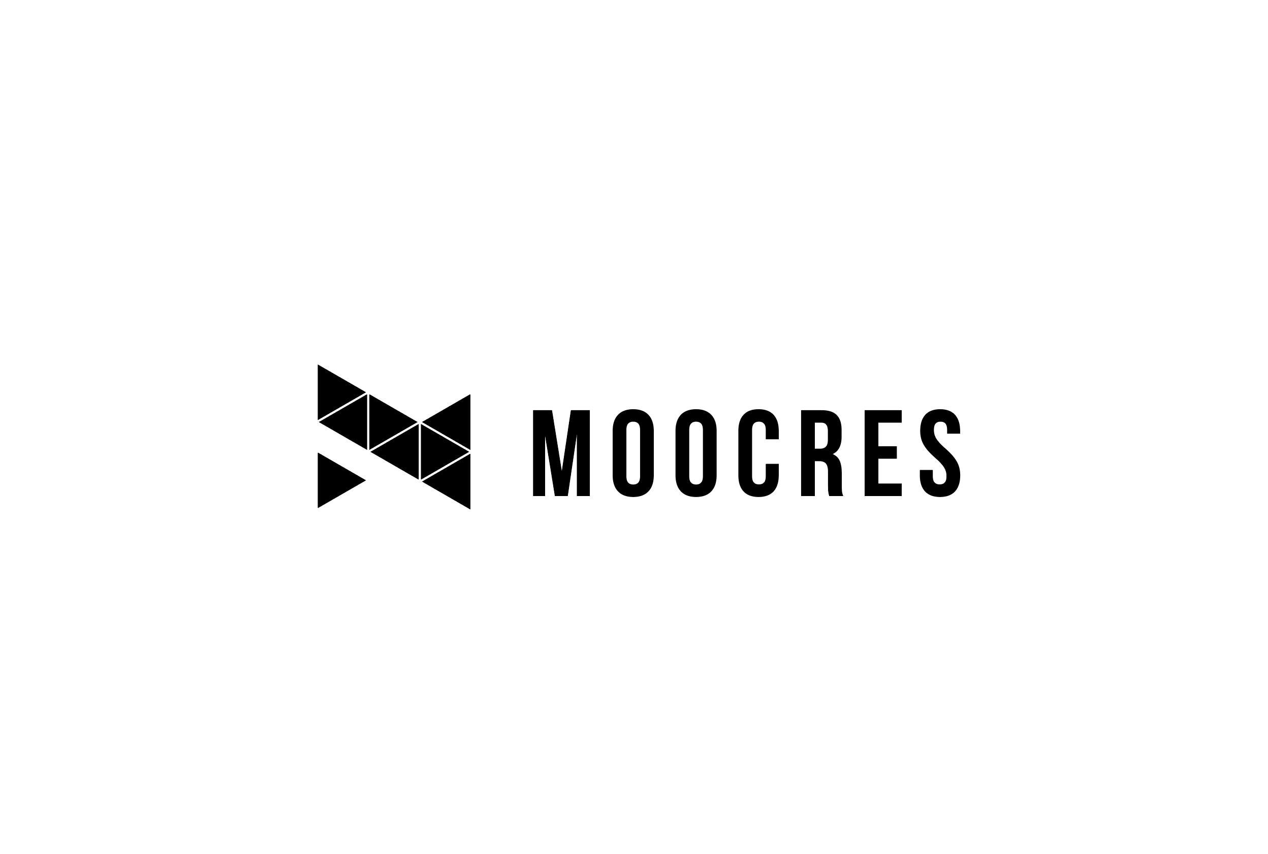 """【制作実績】映像クリエーター育成サロン""""MOOCRES""""のロゴを制作しました。"""