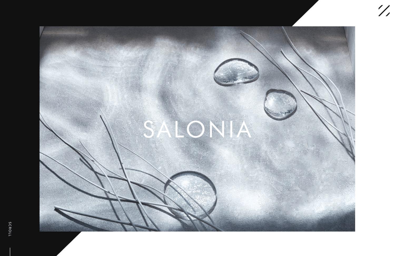 """【制作実績】ヘアアイロン""""SALONIA"""" の公式ブランドサイトを制作しました"""