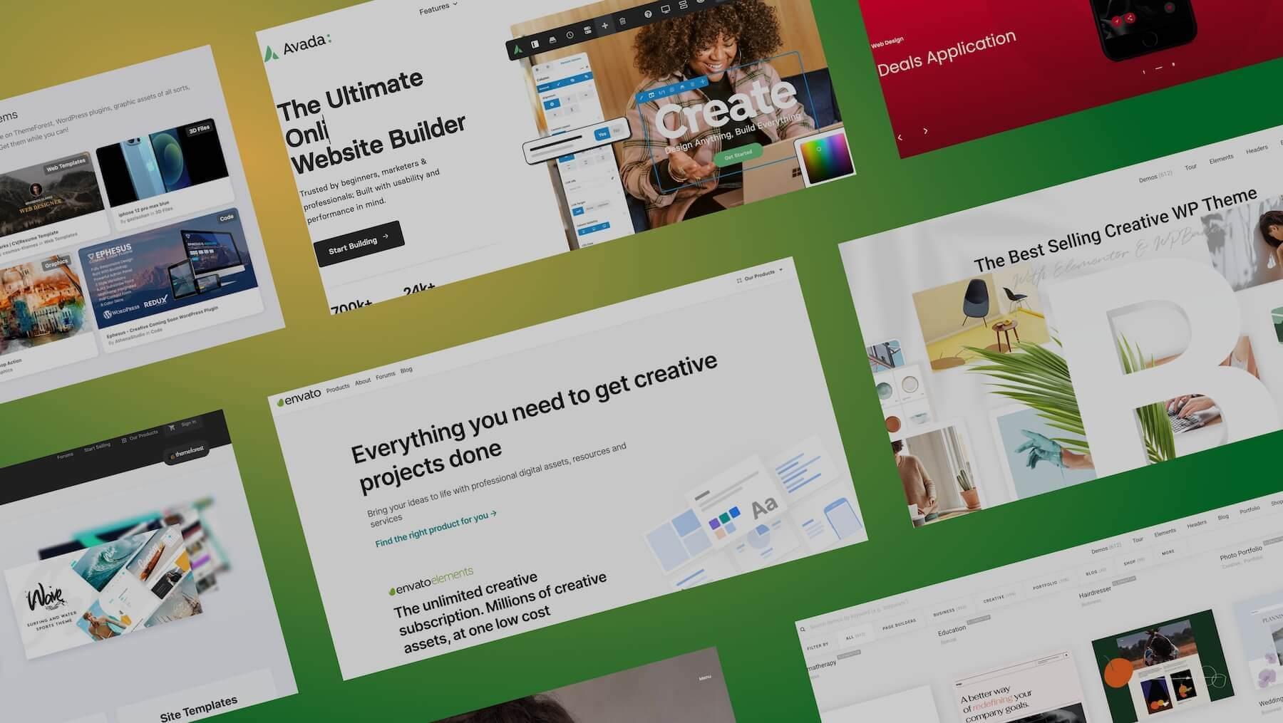 """WordPressテーマの百貨店""""envato""""は安くてデザイン性が高い"""